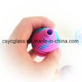Mini pipe de gicleur d'embouchures de silicones pour le narguilé en verre
