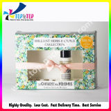 Caja de cartón de papel cosmética de 2017 ventas al por mayor con la ventana