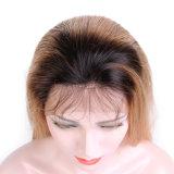 100% 사람의 모발 레이스 정면 가발, 도매 깊은 파 사람의 모발 가발