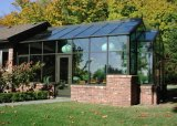 Feelingtop Aluminium Sunroom Double Laminated Glass Sun House