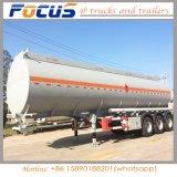トレーラー42000リットルのオイルタンクの、販売のための大きい容量の燃料のタンカーのトレーラー