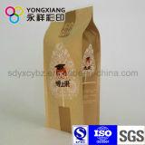 Saco de empacotamento personalizado do reforço do lado do papel de embalagem