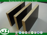Two Times Pressed 4FT*8FT Commercial Plywood with Black/Brown Film for Construction