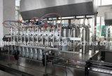 Estado de funcionamento da máquina de enchimento de óleo de fritura Automática