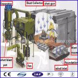 中国の紙やすりで磨く部屋のショットブラストのクリーニング機械