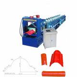 Material con la máquina del edificio para el casquillo de Ridge de la construcción que hace la máquina