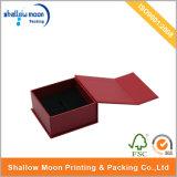 새로운 디자인 빨간 서류상 선물 팔찌 반지 시계 Jewellry 상자 (QYZ047)