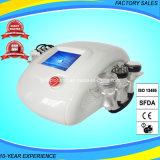 Remoção gorda de Cavitation+Vacuum+Lipolaser+RF que Slimming a máquina