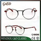 Nuevo estilo de metal productos gafas Gafas Anteojos de marco de óptica