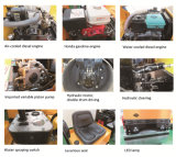 pequeña máquina vibratoria hidráulica de la compactación del rodillo 1000kg (FYL-880)