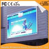 Cartelera video al aire libre LED definición video al aire libre de la pared de P10 de la alta