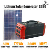 73000mAh Portable Solar Power Generator mit Solar Panel Off-Grid System