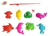 Jeu de pêche en plastique de promotion de la pêche magnétique jouet pour enfants