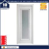 Modèle moderne intérieur de porte en bois solide de garniture intérieure en verre givré