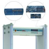 LCD Intelligente de Vertoning zet Poort van de Detector van het Metaal van Streken de Draagbare om