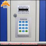 Governo intelligente sicuro elettronico dell'armadio di memoria numerica del metallo del codice a barre del supermercato