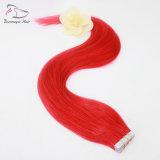 De volledige Band van de Rode Kleur van de multi-Kleuren van het Haar in de Uitbreidingen van het Menselijke Haar Remy 20 PCs per het Gewicht van de Reeks 50g rechtstreeks