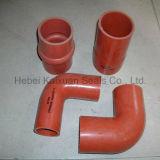 Raccord coudé 90 degrés de température élevée de silicone flexible en caoutchouc du radiateur