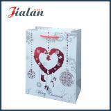 Personnaliser avec marquage à chaud d'Emballage de cadeau de Noël Shopping sac de papier