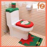 (3 в 1) Рождество Санта-Клаус туалет в ванной комнате мест рождественские украшения Fz050001 крышки