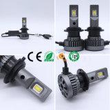 60W LED HealightおよびLEDのライトバーが付いている高い内腔車H4 LEDのヘッドライト