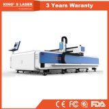Machine de découpage de laser de fibre de feuillard pour le laser de fibre des prix 500W de laser de fibre d'acier inoxydable/acier du carbone