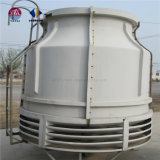 円形の逆流する水冷却塔