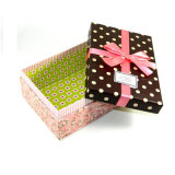 Paper operato Cardboard Packaging Box per Gift, Wedding