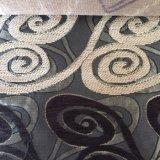 Exportación a Medio Oriente de la tela 100% de la colcha del Chenille del telar jacquar del poliester
