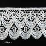 garniture crantée épaisse de lacet de cil de 14.6cm pour les accessoires Hml045 de robe ou de chemise de mariage
