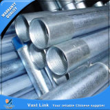Tubo de acero galvanizado estándar BS1387