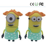 Minions PVC Diseño Logotipo Customzied USB3.0 Pendrive USB