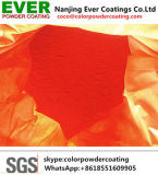 防蝕赤い無光沢ポリエステル外部の粉のペンキ