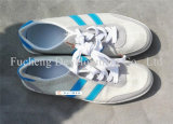 O homem barato, senhora, criança usou sapatas em China (FCD-005)