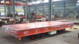 Carga pesada de material ferroviário carrinho de plano de transferência