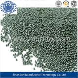 Los Estados Unidos de la norma SAE J444/S, P<0,05%/moderada y la energía cinética de Granalla de Acero bajo en carbono con ISO9001 SAE