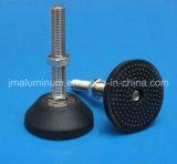 Supports de pieds fixes avec le matériel en acier inoxydable pour profilé en aluminium, de l'équipement, de la machine Carbinet