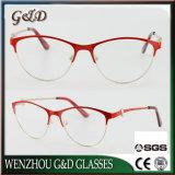De nieuwe Populaire Vrouwen van het Ontwerp Dame Metal Glasses Eyewear Eyeglass Optisch Frame Xdbazzu