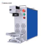 Mopa périphérique portable 20W Fibre équipement laser couleur en acier inoxydable