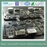 4 capas Auto PCB con RoHS, ISO, UL y PCB Asamblea SMT DIP
