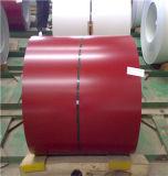 Bobina de acero galvanizada prepintada material para techos de las bobinas PPGI del metal