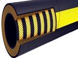 DIN EN de gran diámetro856 Espiral de alambre de acero de mangueras hidráulicas de goma de nitrilo R15.