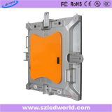 Panneau visuel de location polychrome fixe de coulage sous pression d'intérieur/extérieur d'Afficheur LED de mur de RVB pour le prix de la publicité d'écran Chine (P3.84, P4, P4.81, P5.33, P6, 576X576mm)