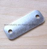 Piccola timbratura di alluminio di rettangolo