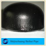B16.9 Sch40 A234 Wpb Bw-Rohrfitting-Kohlenstoffstahl-Schutzkappe