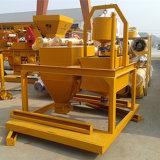 60m3 Type de ceinture le bétonnage usine en Chine