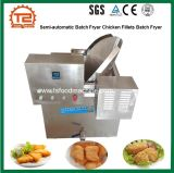 China-halbautomatische Stapel-tiefe Bratpfanne-Fisch-Kotelett-tiefe Bratpfanne-Fertigung-heißer Verkauf