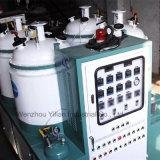Depósito de cuatro tipo de transportador de poliuretano de baja presión vertiendo la máquina para el zapato