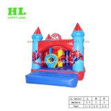 (파랑) 아이를 위한 작은 집 팽창식 도약자