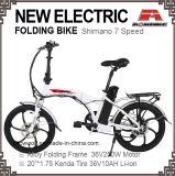 Alliage de vélo électrique pliant 6 Vitesse moto de la batterie